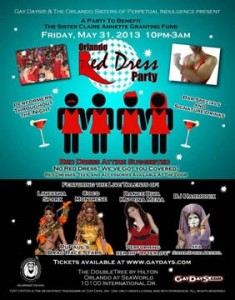 Orlando Red Dress Party